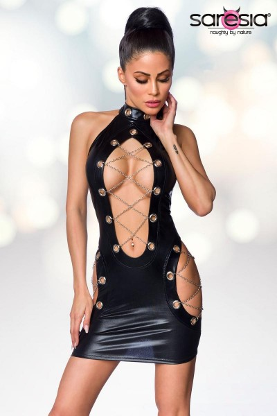Wetlook Minikleid