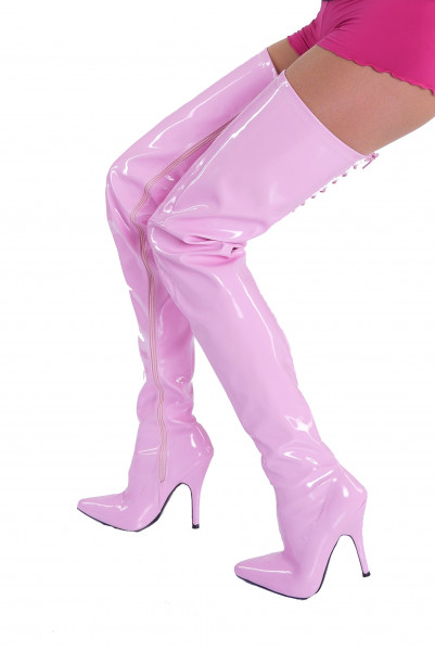 Crotch Overknee Stiefel - extra lang