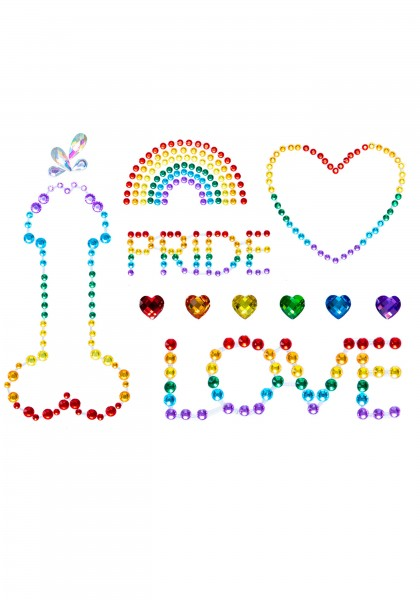 Pride Körperjuwelen-Sticker
