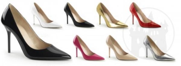 Classique-20 (High Heel Größe: 14| Gr: 44, Farbe: Gold)
