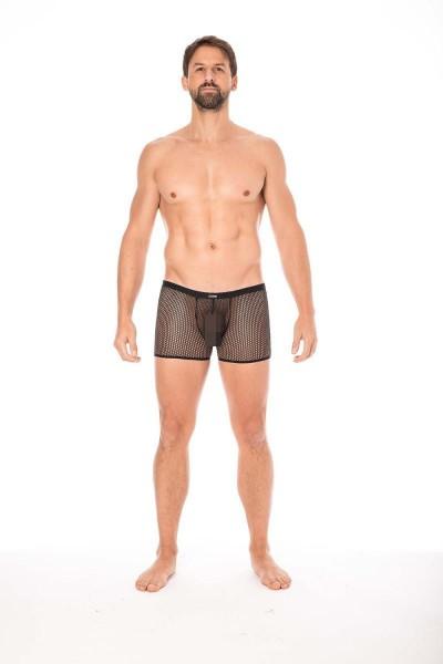 schwarze Netz Boxer Short
